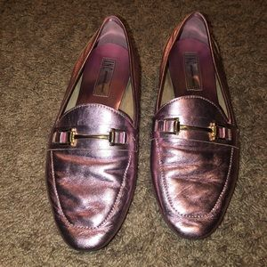Pink. Loafers